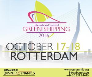 GREEN SHIPPING SUMMIT BANNER
