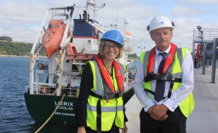 WFS:Opening of new Jetty at Falmouth