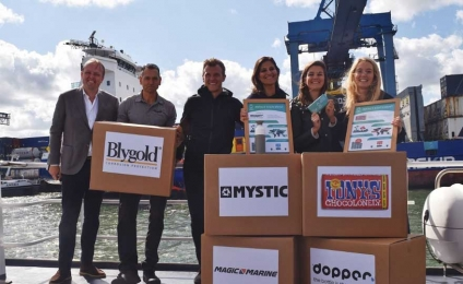 GoodFuels Marine and BLOC announce world's first bunker delivery using blockchain technology