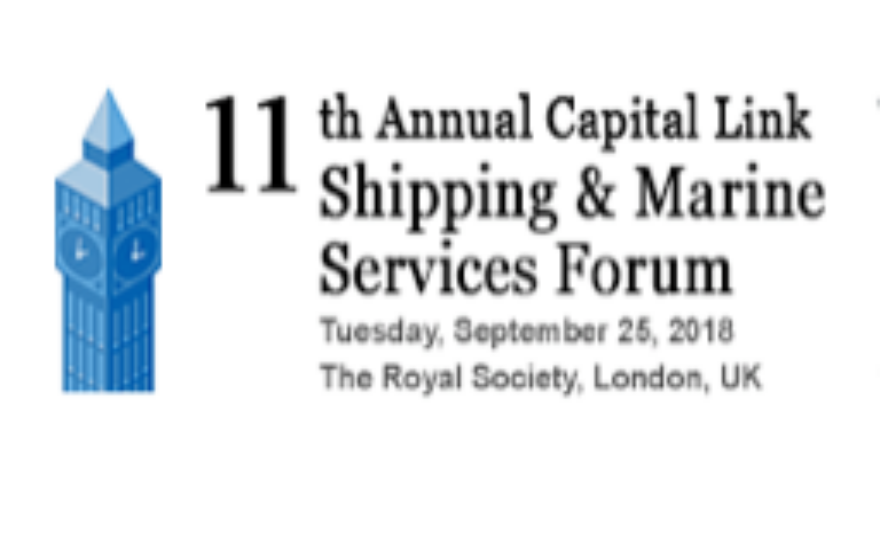 11th Annual Capital Link Shipping & Marine Services Forum