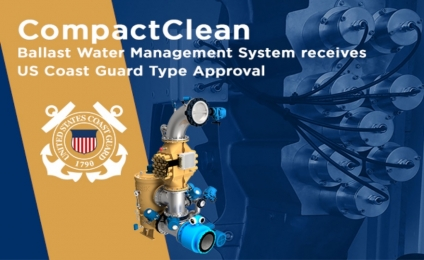 DESMI Ocean Guard's CompactClean BWMS Receives US Coast Guard Type Approval