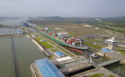 Panama Canal Welcomes Largest Containership To-Date Through Expanded Locks