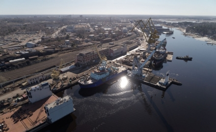 "Gazpromneft-Lubricants to supply oils for the first fill to ""Ob"" arctic icebreaker"