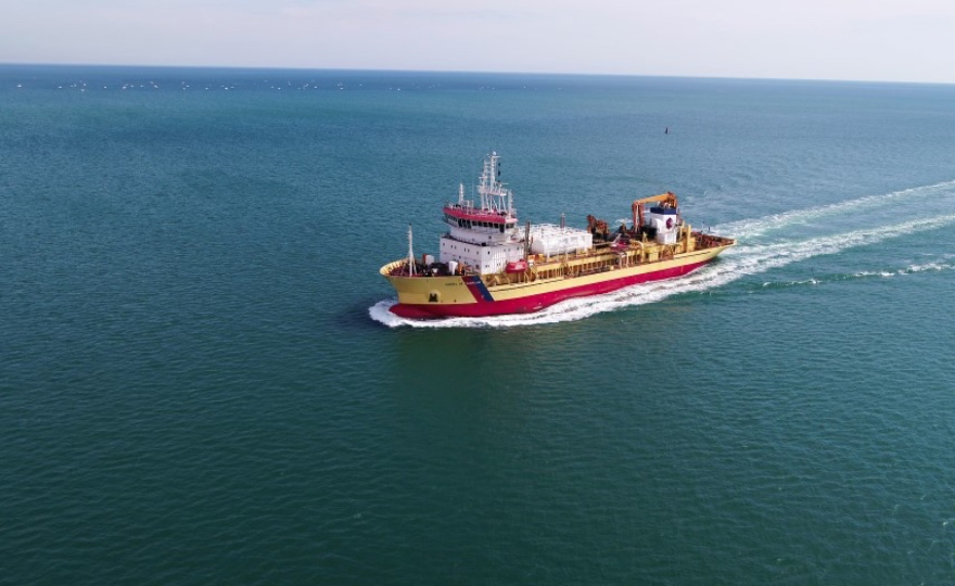 First European Dredger Conversion To Dual Fuel Operation
