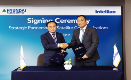 Hyundai Global Service and Intellian sign strategic partnership in satellite communications