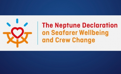"Τhe Propeller Club, Port of Piraeus  signs ""The Neptune Declaration of Seafarer Wellbeing and Crew Change"
