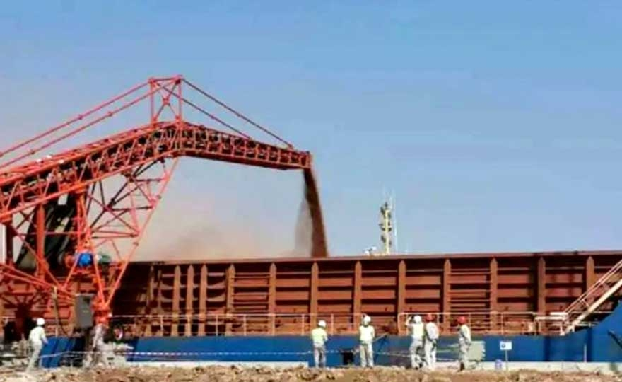First Shipment of Bauxite Completed at the Port of Verga Managed by COSCO SHIPPING