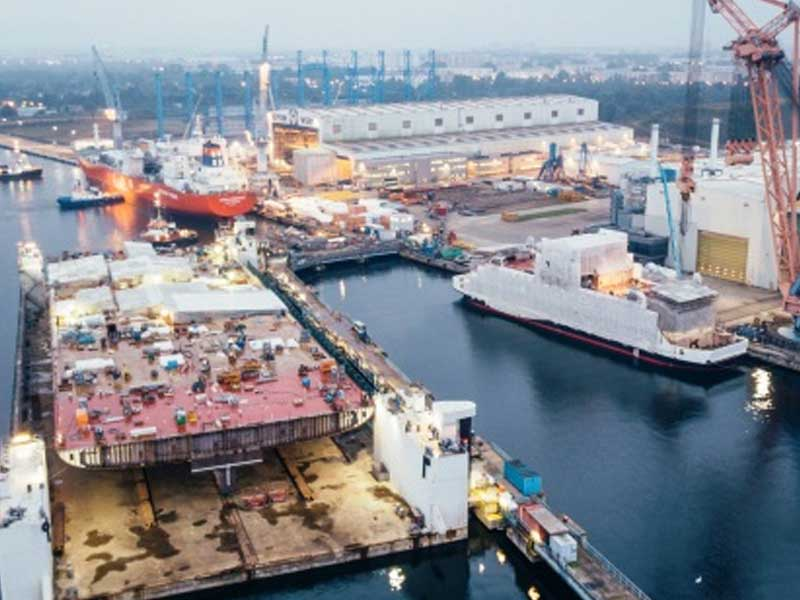 AIDAnova: First engine room module on Neptune shipyard finished