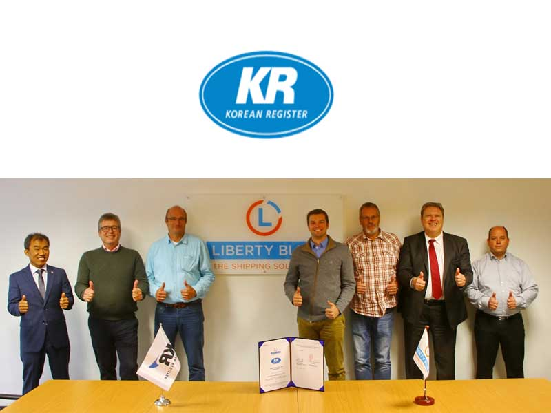 Liberty Blue appoints KR to provide classification services