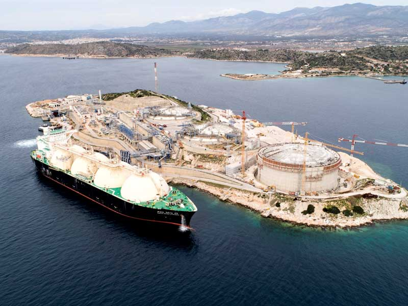Tender for the construction of an LNG Truck Loading Station at Revithoussa by DESFA