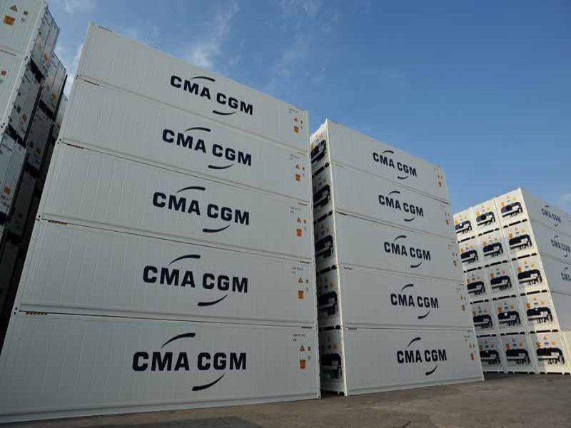 CMA CGM deploys its innovative solution for containers tracking, TRAXENS