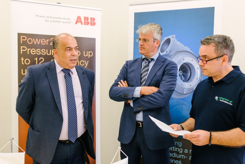 Ioannis Smyrneos* & Rolf Bosma*: ABB Turbocharging -100+ service stations & 1,200 skilled people at your service
