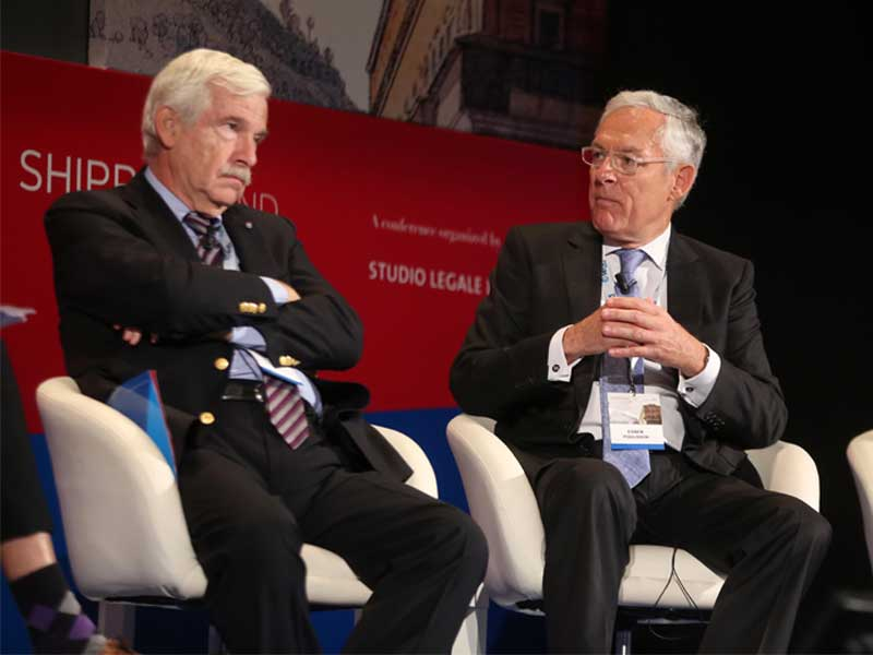 Shipping & The Law conference draws maritime royalty to Naples