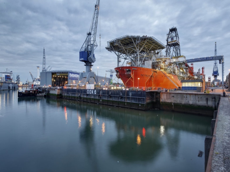 Damen Shiprepair Rotterdam Successfully Completed The