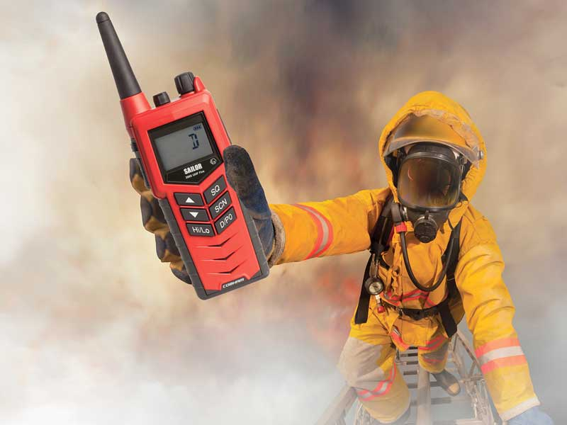 Italy takes lead on SOLAS fire fighter radio specification