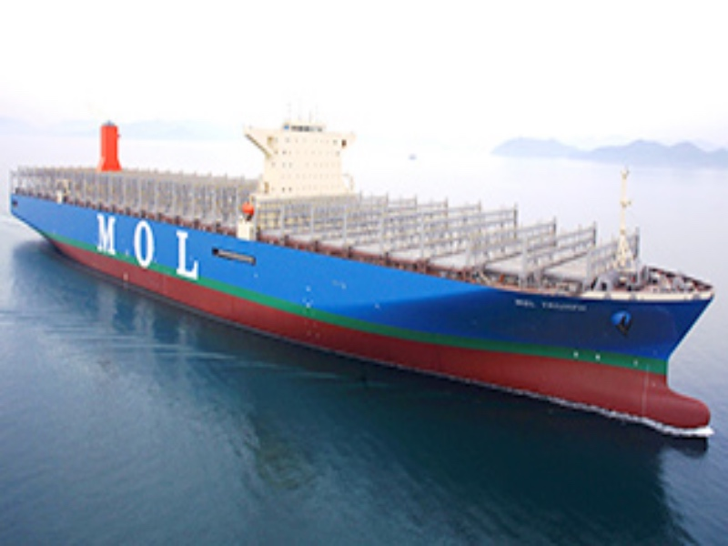 World's Largest Containership Delivered, MOL Triumph
