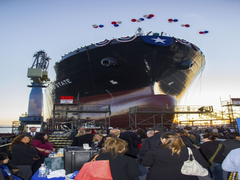 General Dynamics NASSCO Christens and Launches Final Ship in