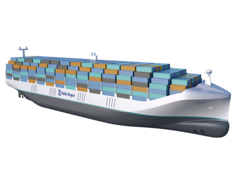 Rolls-Royce and MacGregor to explore implications of Autonomy for container ships