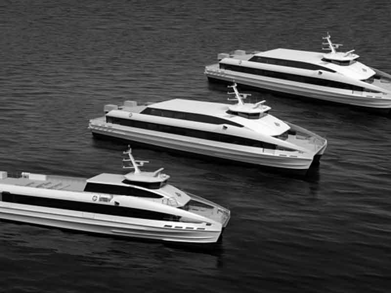 Rolls-Royce waterjets and MTU engines selected for new fast ferries
