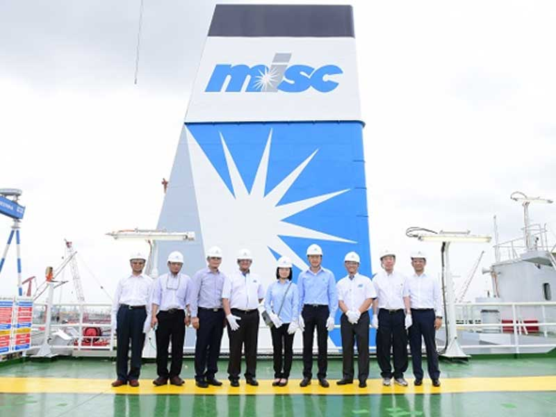 MISC Berhar celebrates naming ceremony of its FSO Benchamas 2 project