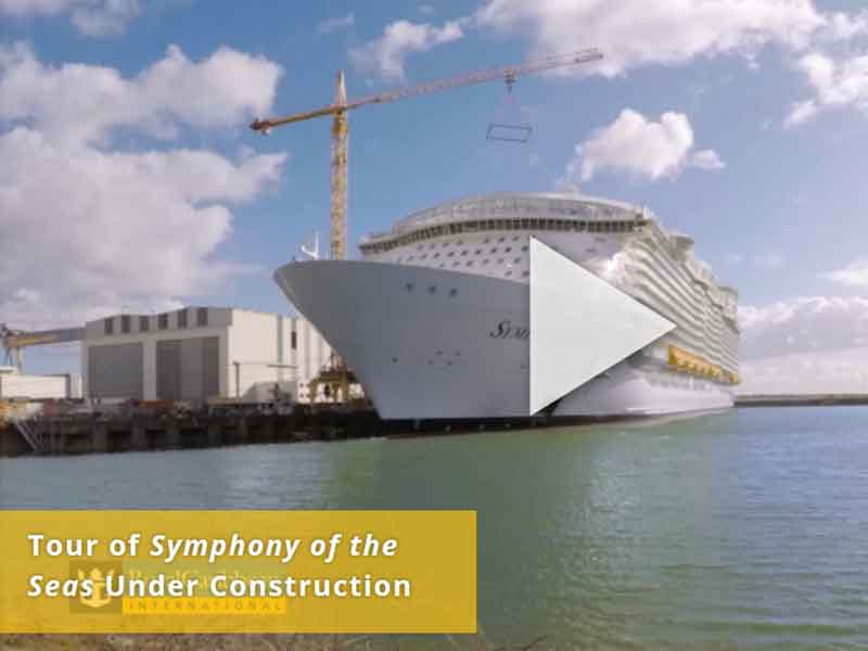 Video Watch The Tour Of Symphony Of The Seas Under