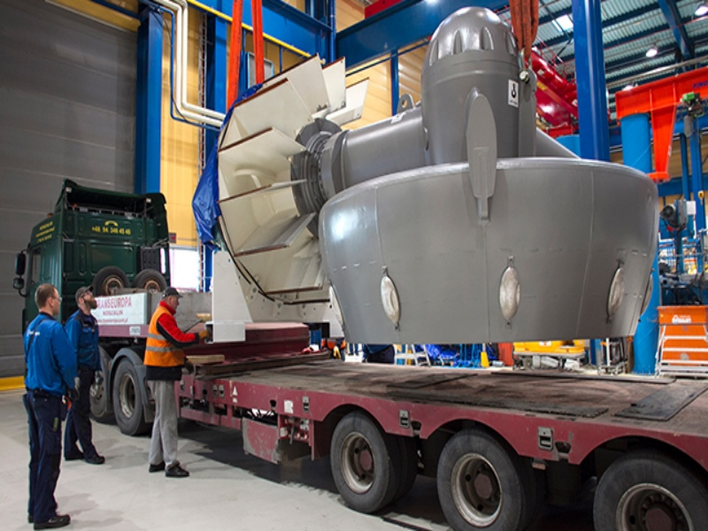 Rolls Royce Delivers Damen S 1000th Azimuth Thruster