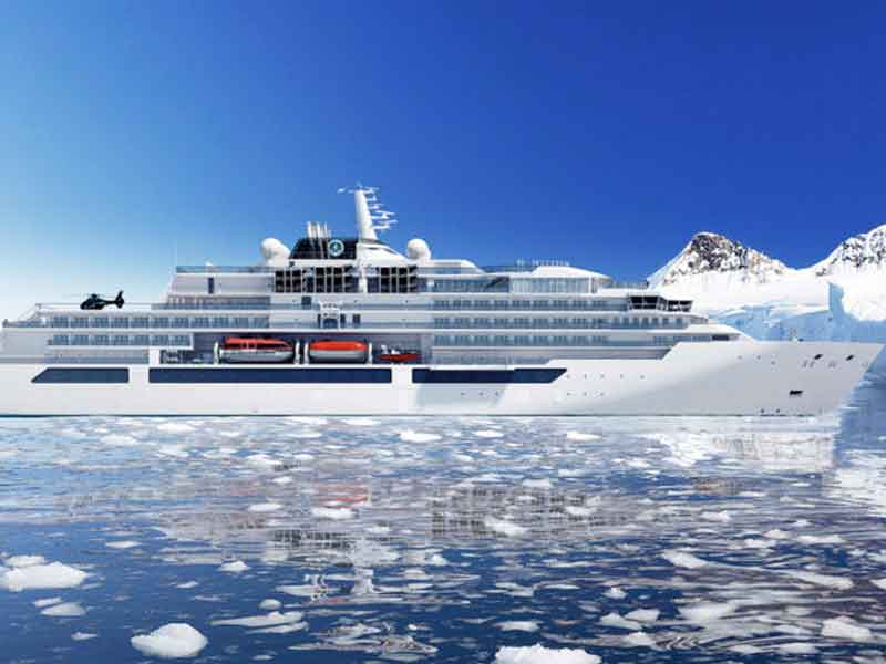 Construction Begins On Crystal Endeavor At Mv Werften